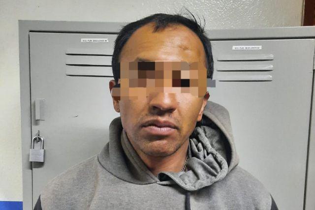 Detienen a masculino por intento de robo con arma de fuego en Chiautempan