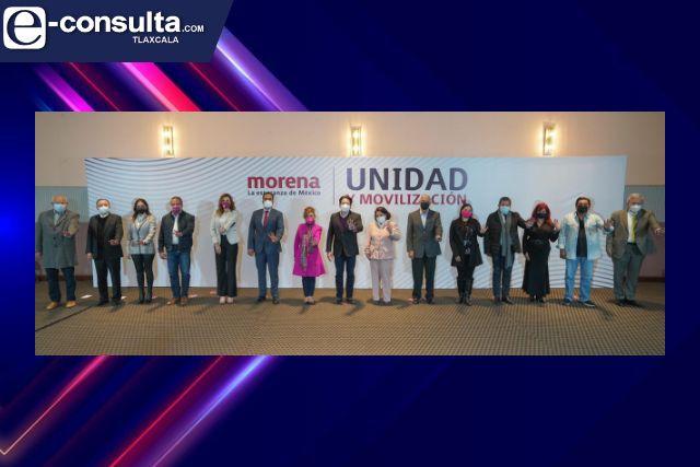 Ganadores de encuestas refrendan la unidad en Morena y el compromiso de defensa de la 4t