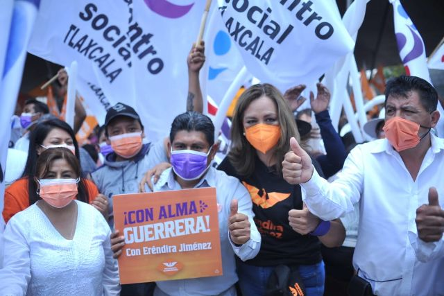 Se unen al proyecto de Eréndira Jiménez liderazgos de otras fuerzas políticas