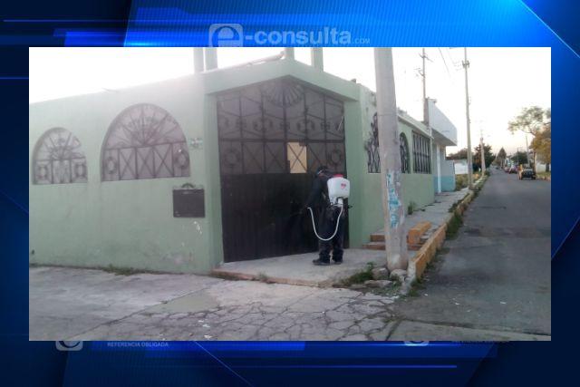 Acude brigada a  barrios de Santa Cruz Tlaxcala