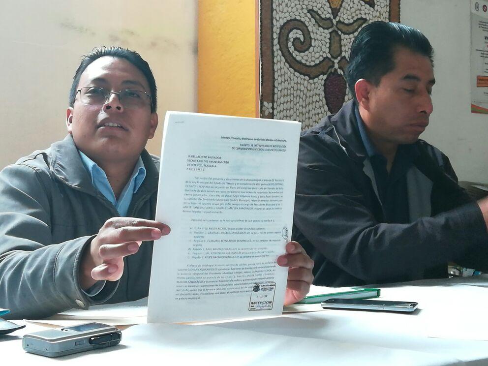Ningún trabajador se ha dado de baja en la presidencia municipal de Ixtenco:   Aguilar Solís