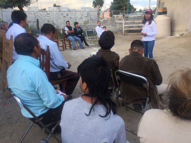 Desde el Congreso local seré una aliada para la gente del distrito IX: María Félix