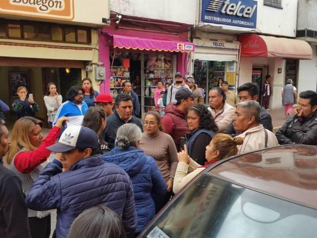 Confrontación por parquímetros; piden a la autoridad reglamentarlos