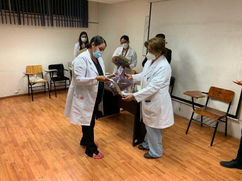 Reconoce SESA labor del personal de ginecología del Hospital General De Tlaxcala