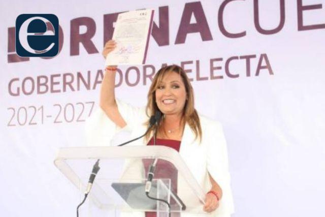 Quedó en firme el triunfo de Lorena Cuéllar