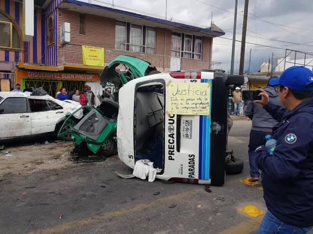 Pide disculpas Flecha Azul por el accidente de Acuitlapilco
