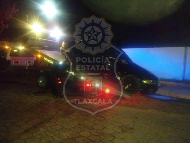 La CES asegura un vehículo con estrobos y colores de uso exclusivo para unidad policiales