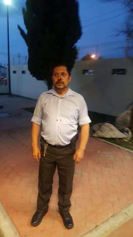 Malandrines tunden a golpes a periodista en Tzompantepec