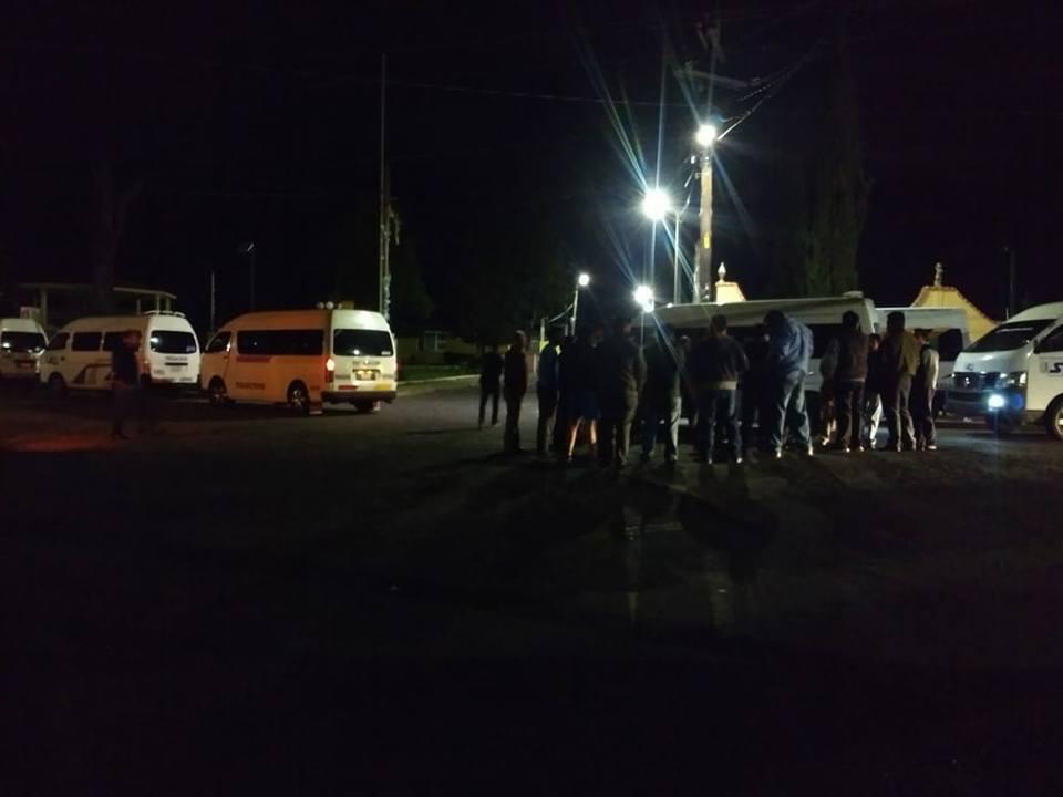 Se roban otra colectiva; ahora en la central de Tlaxcala