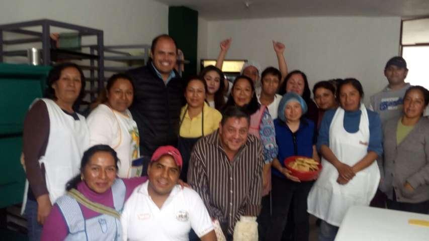 Culmina con éxito taller de capacitación en Santa Cruz Tlaxcala