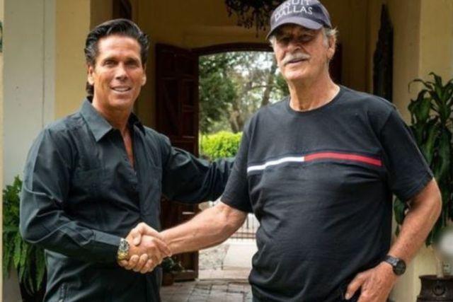 Roberto Palazuelos y Vicente Fox se vuelven socios de un negocio de Marihuana