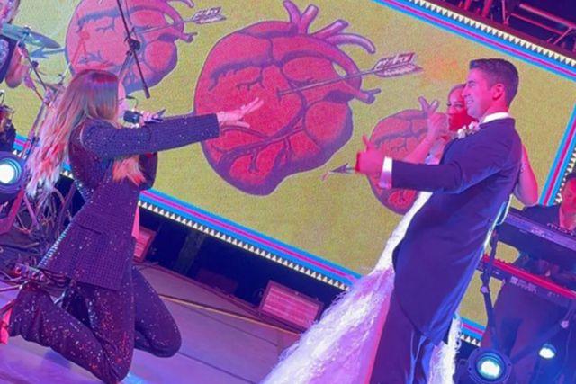 Pierdas Negras, Coahuila; Belinda da concierto privado en boda a hijo de alcaldesa electa