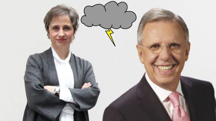 Cuenta falsa de López Dóriga anuncia 'muerte' de Aristegui