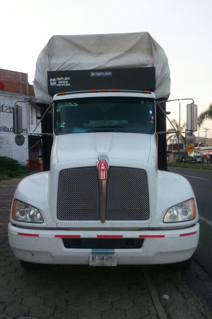 Recupera Policía Estatal unidad de transporte de carga
