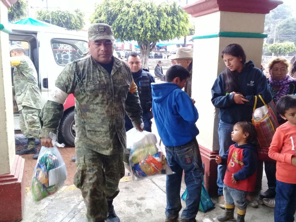 Apoya Semarnat Tlaxcala con víveres para damnificados en el Estado de Morelos