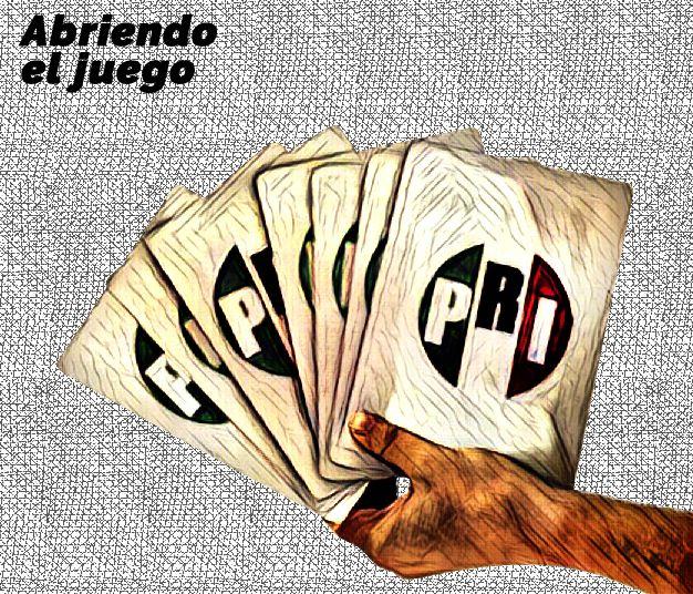 Faltan las cartas del PRI para saber su juego