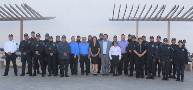 Gobierno Municipal de Lardizábal aumenta salario a elementos de Seguridad Pública
