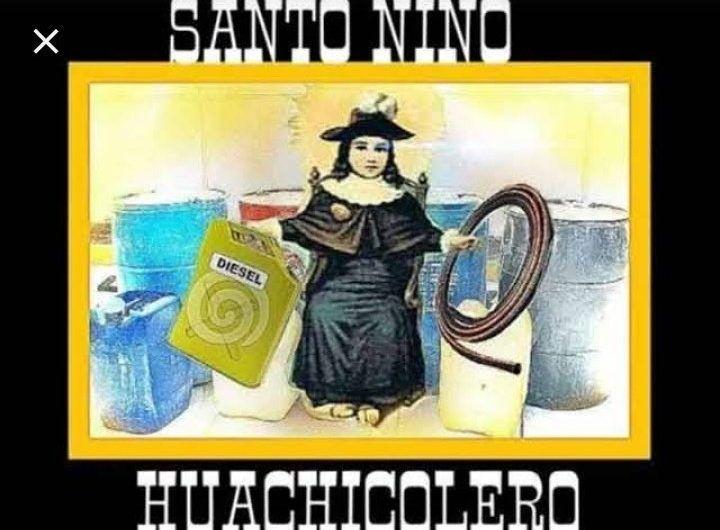 Reprueba la Iglesia Católica la veneración al Santo Niño Huachicolero