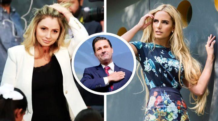 La 'novia' de Peña Nieto habla de su relación con el expresidente
