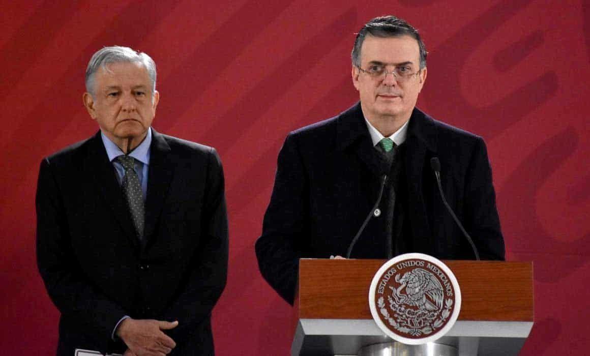 Dice Ebrard que la carta de AMLO a España era de reconciliación histórica