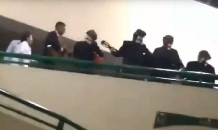 IMMS de Puebla arma fiesta con todo y mariachi, mientras pacientes esperaban ser atendidos