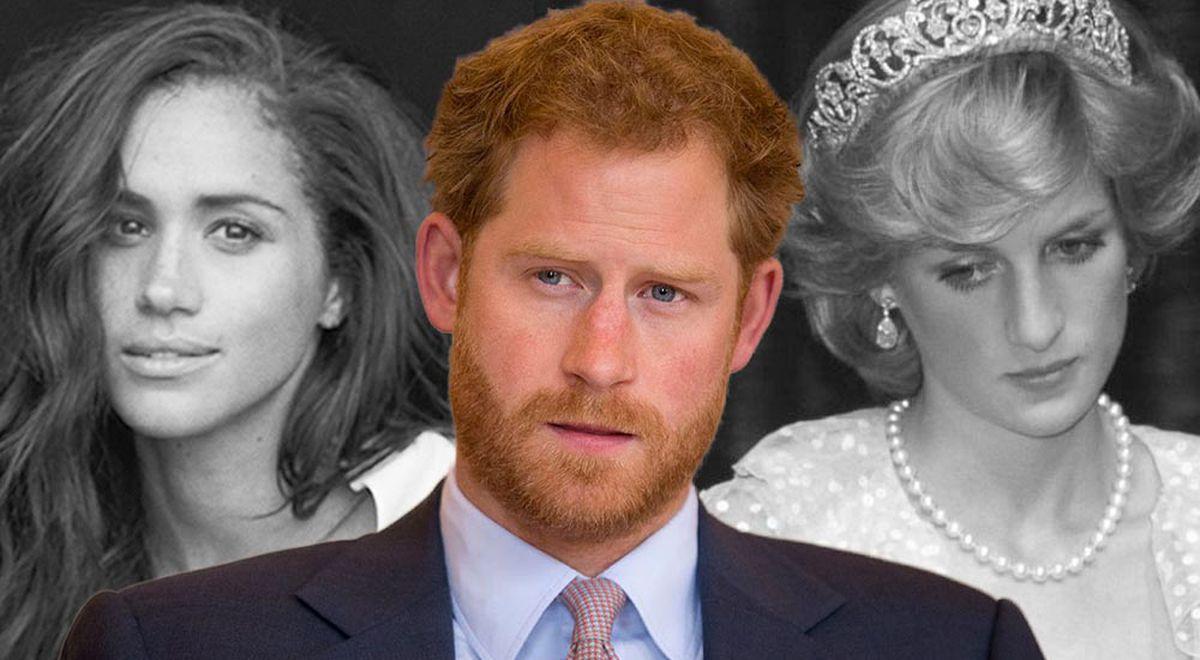 El príncipe Harry teme que se repita la historia de Lady Diana