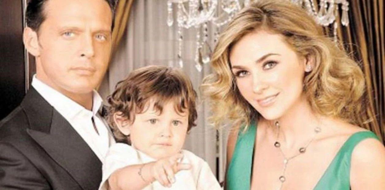 Hijo de Luis Miguel y Aracely muestra sus dotes como cantante