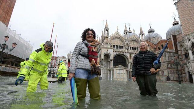 Alerta de emergencia en Venecia por inundación extrema