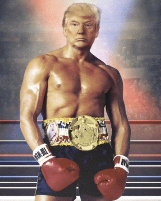 Genera polémica fotografía retocada con photoshop de Trump