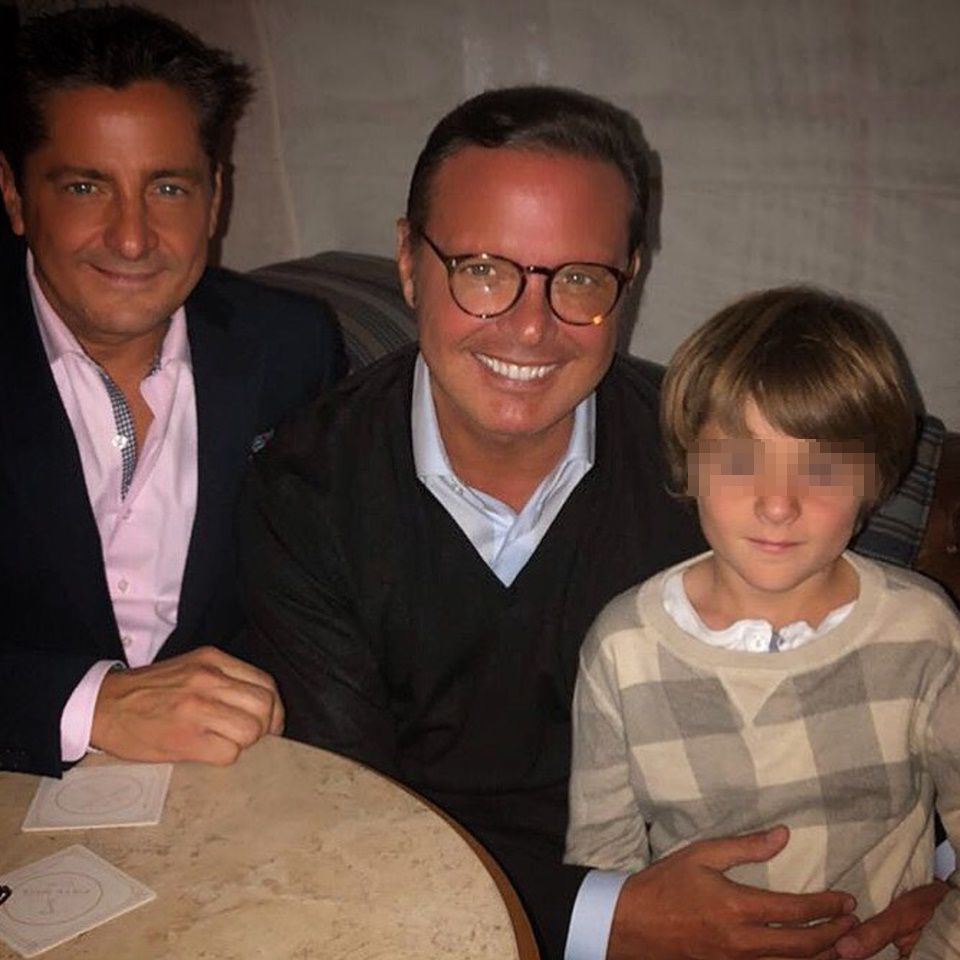 Filtran foto del sobrino de Luis Miguel idéntico a él