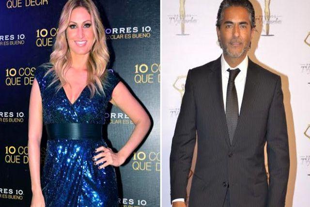 Destapan amorío entre los conductores Raúl Araiza y Anette Cuburu