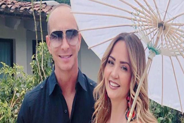 Esposo de Andrea Legarreta confiesa tener problemas de pareja