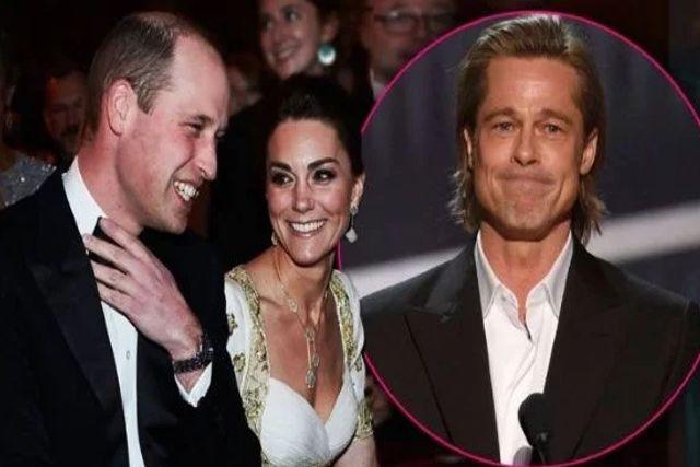 Brad Pitt humilla con su discurso a Kate y William durante los premios BAFTA 2020