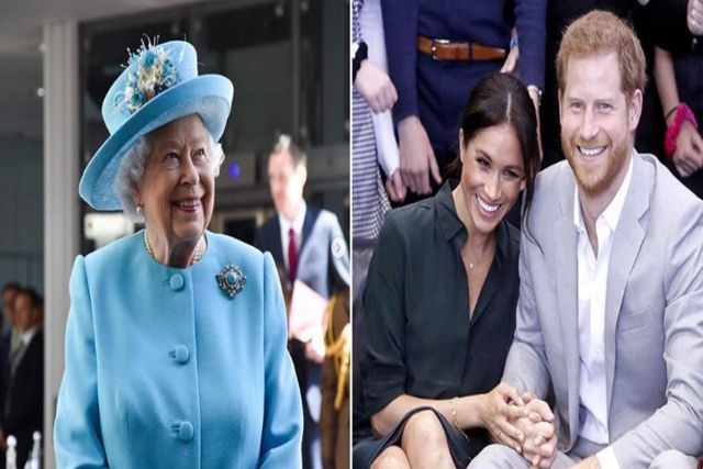 Emotiva reconciliación captan al príncipe Harry y a la Reina Isabel hacer las pases