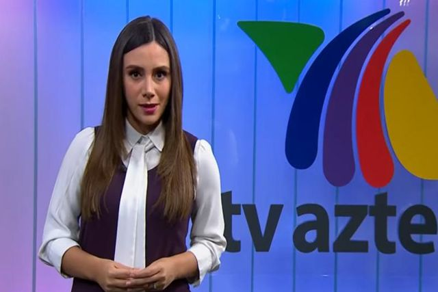 Conductora de TV Azteca explica los motivos del porque fue a trabajar durante el paro