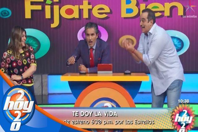 Omar Fierro golpea a Raúl Araiza en pleno programa matutino