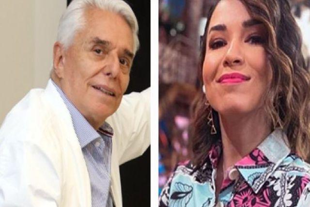 Laura G hace broma pesada a Enrique Guzmán al decir que fue su ex-novia