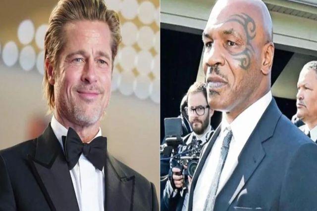 Mike Tyson descubre infidelidad de su esposa con Brad Pitt