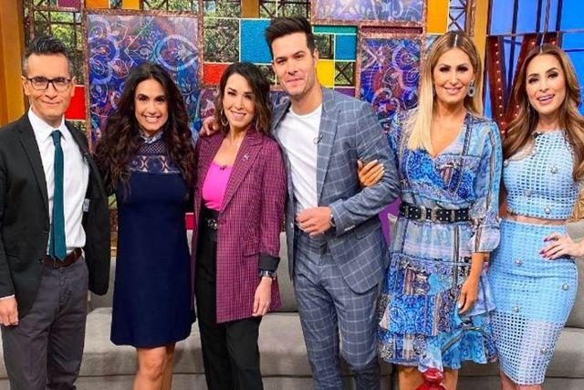 Nuevo integrante de VLA se integra al matutino y es esposo de una conductora de TV Azteca