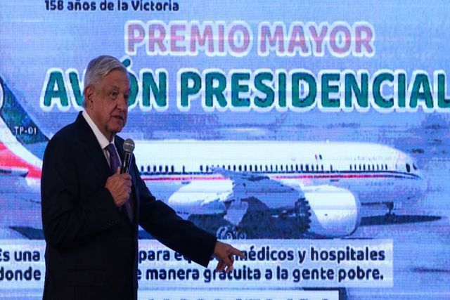 Gobierno de México recibe atractiva oferta por avión presidencial incluido equipo médico