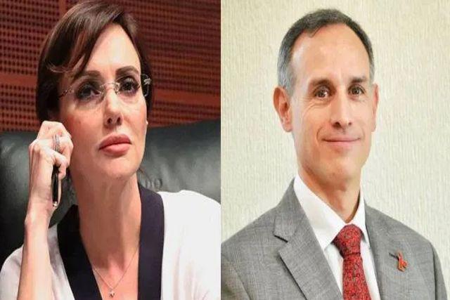 Denuncian a López-Gatell por negligencia criminal: Lily Téllez