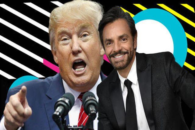 Eugenio Derbez se burla de Donald Trump YA SIÉNTESE, SEÑORA