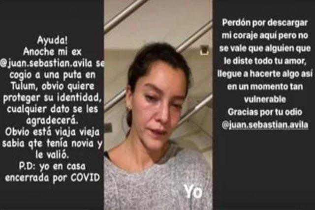 Mala suerte de Sara Maldonado: Tuvo Covid, tuvo un aborto y le fueron infiel