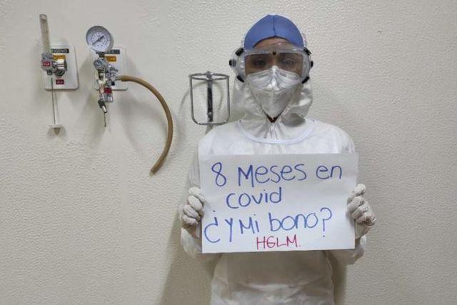 Pese a repunte de Covid-19, enfermera revela despidos en el Insabí