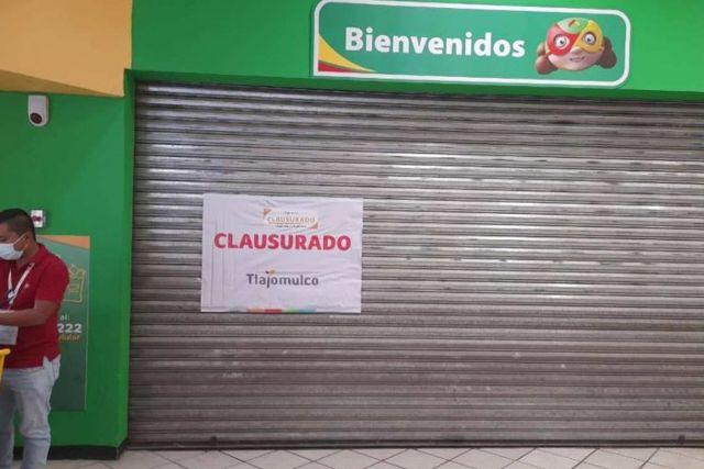Jalisco: Clausuran Bodega Aurrera por abrir con empleados contagiados