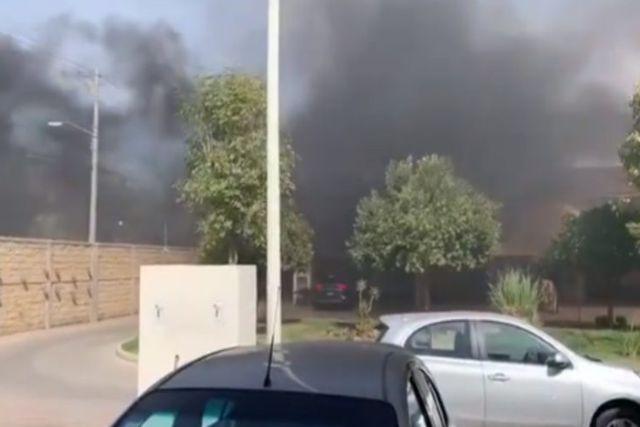 Guanajuato: Denuncian humo de crematorio que incinera fallecidos por Covid