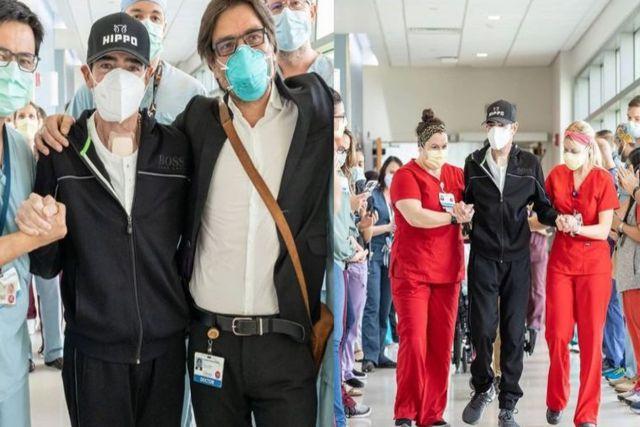 Toño Mauri agradece a los médicos por haberlo salvado: Deja el hospital después de 8 meses