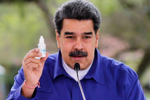 Bloquea facebook video de Maduro por violar políticas sobre gotitas milagrosas vs Covid