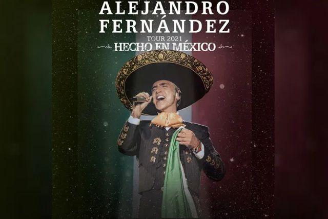 Amenaza Alejandro Fernández con regresar a sus conciertos sin importarle el Covid-19