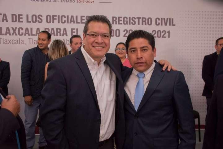 Rinde protesta Eutiquio Sánchez Hernández como Oficial del Registro Civil